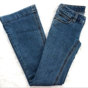 Free People Low Rise Flare Jeans Sz 25